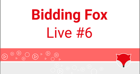 Bidding Fox Live #6 - Zboží.cz a další novinky