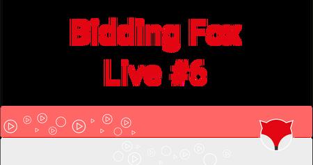 Bidding Fox Live #6 - Zboží.cz a další novinky