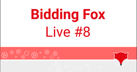 Bidding Fox Live #8 - výkyvy biddingu v Událostech a konference PROBIDDING 2019