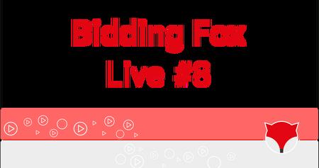Bidding Fox Live #8 - výkyvy biddingu v Událostech a konference PROBIDDING 2019