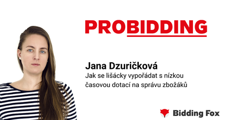 Jana Dzuričková PROBIDDING