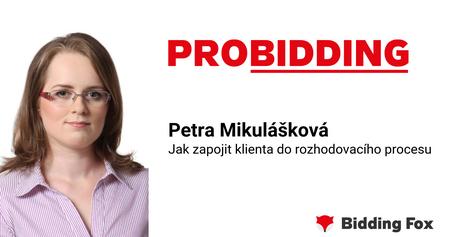 PROBIDDING 2019 - záznam přednášky Petry Mikuláškové