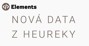 Nová data z Heureky
