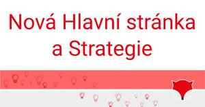 Nová Hlavní stránka a Strategie